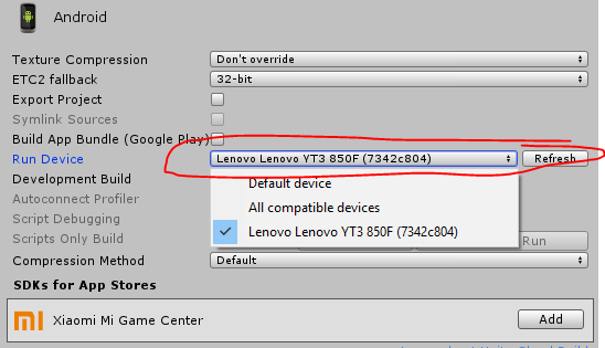 Debugging android device possible? · Issue #44 · Unity