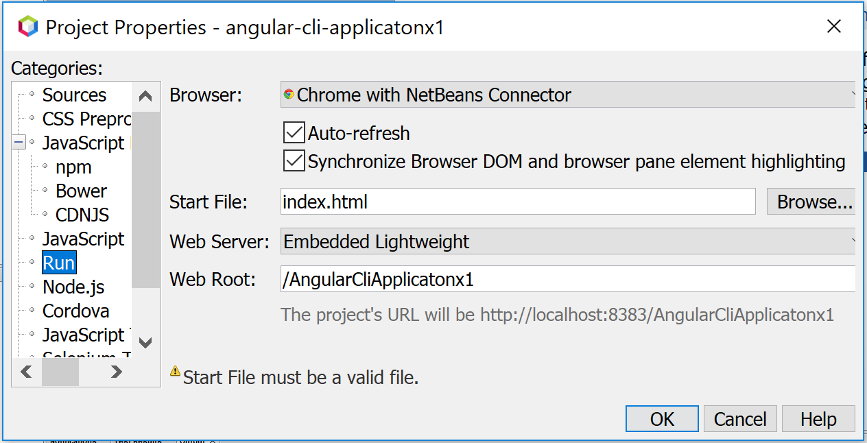 Can not create a new Angular CLI Application within NB 9 0 build 413