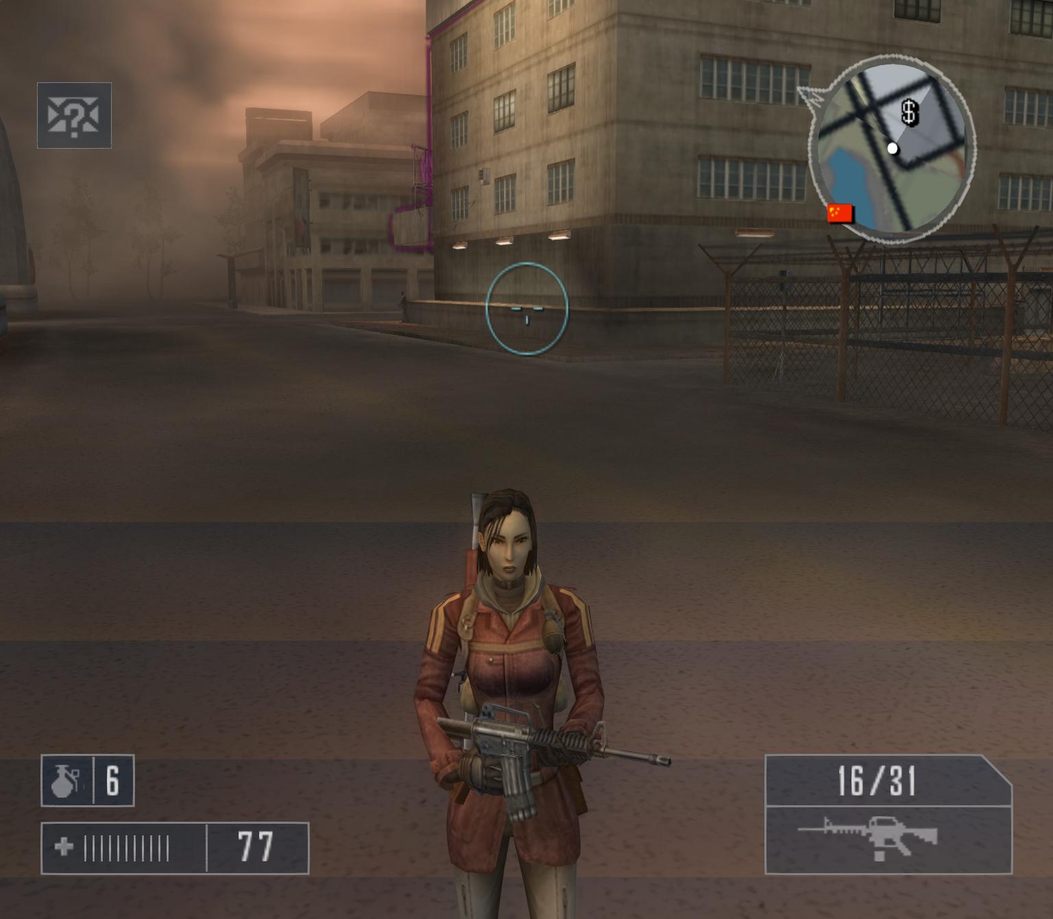 Mercenaries: Playground of Destruction post-processing