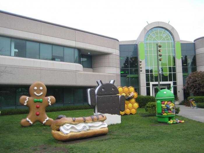 Google's building