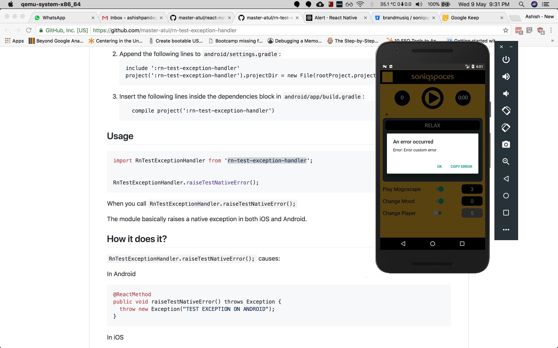 JS error handler receives a TypeError on iOS as error message