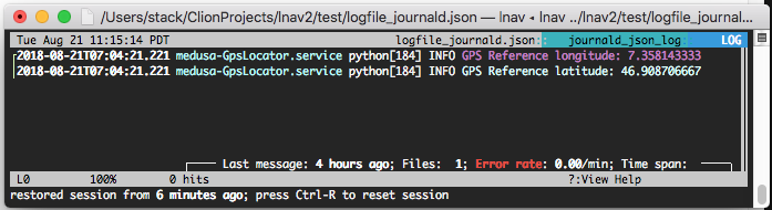 JSON logs with quoted timestamp and/or level values · Issue
