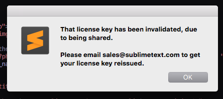 sublime 3 license key 3170
