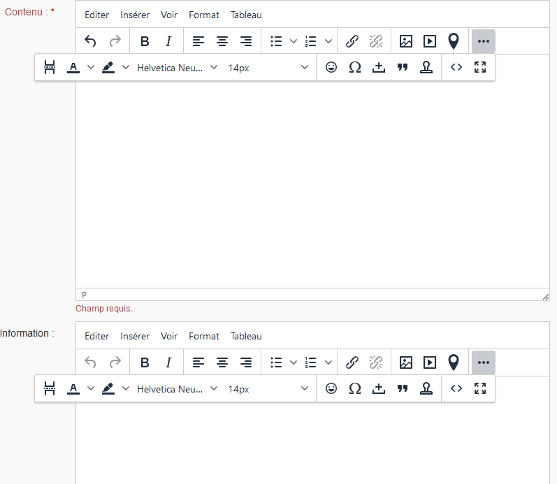 TinyMCE 5 : Problem with multiple editors and floating toolbar