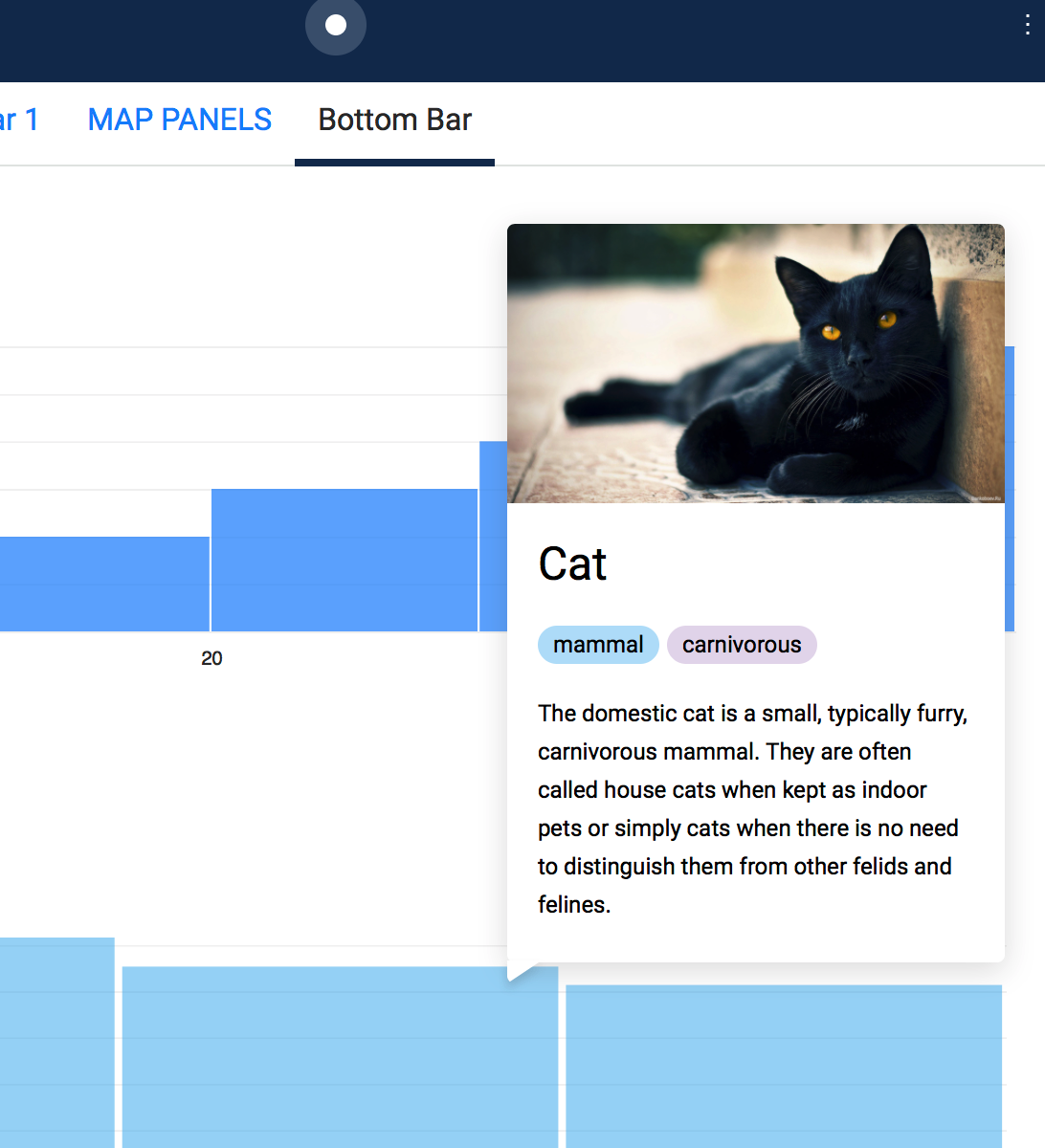 Infowindow on top of footer responsivel panel · Issue #518 · CartoDB