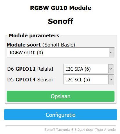 GU10 RGBW