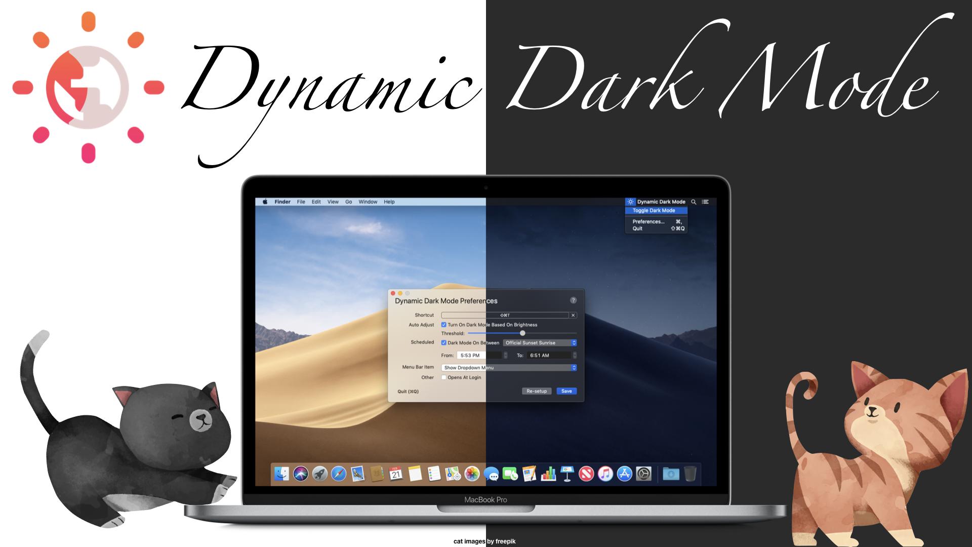 Dynamic Dark Mode