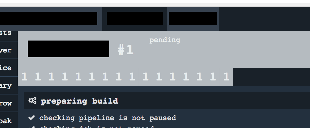 Build #1 tab keeps repeating · Issue #1840 · concourse