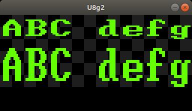 U8x8 split/big fonts (or bigger resolution fonts) · Issue #771