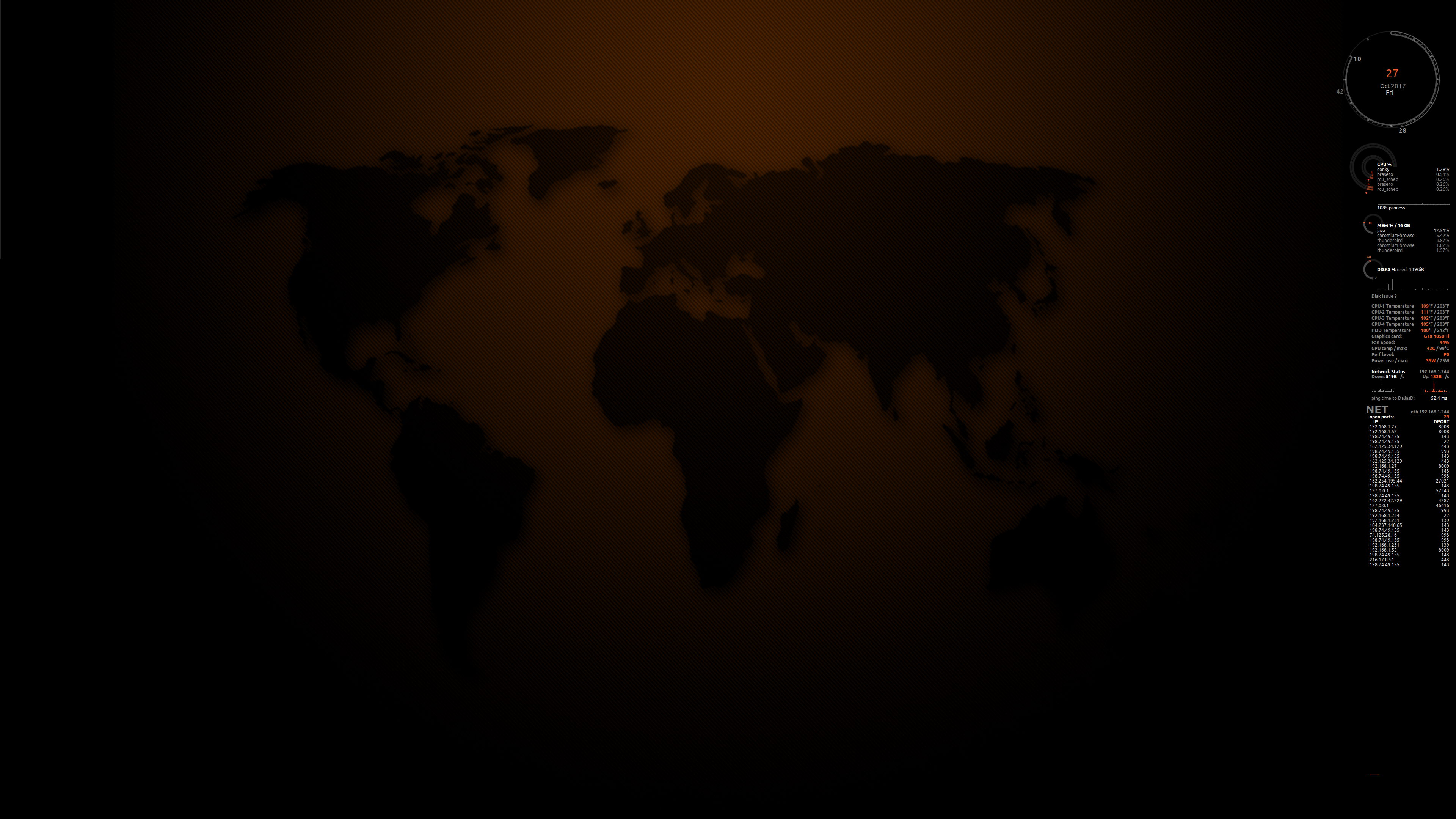 conky_orange_4k_screenshot