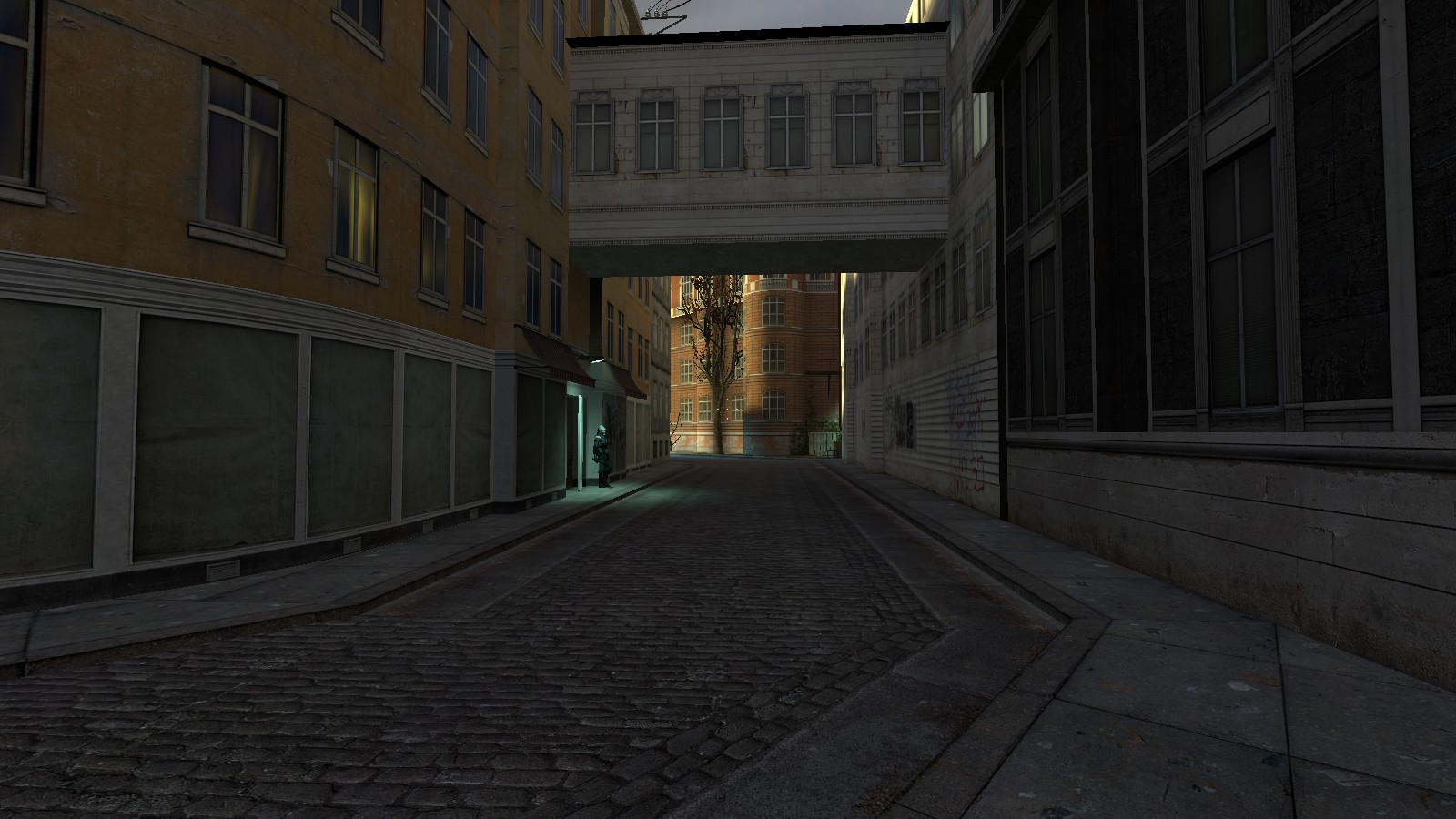 city 17 alley