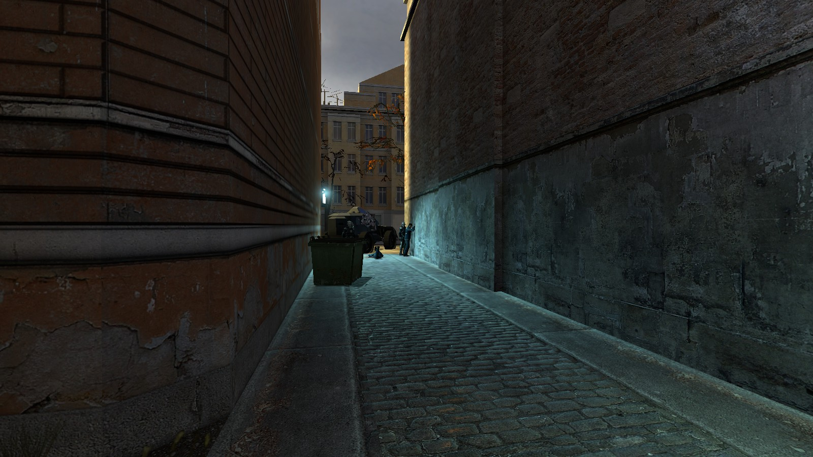 city 17 back alley beating