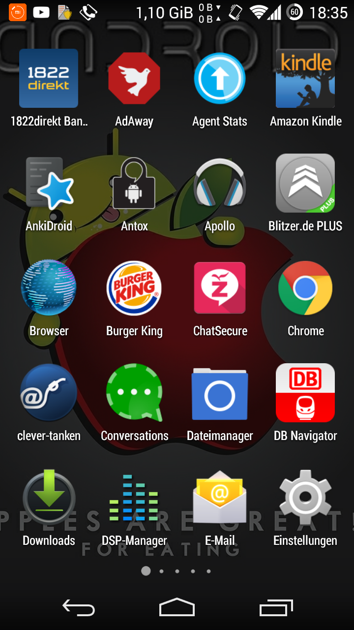 Agentstats zom app ist called chatsecure since the last googleplay