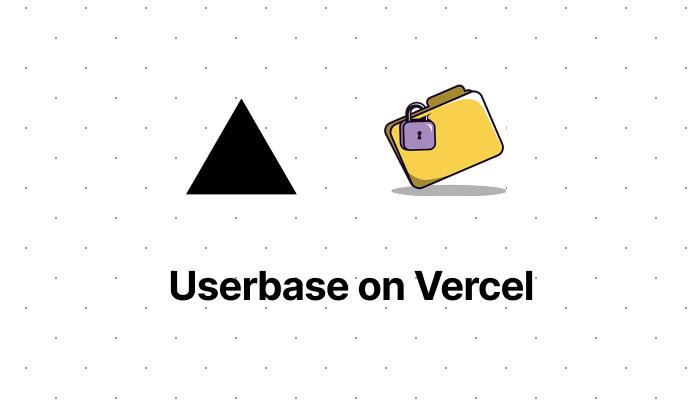 Userbase on Vercel