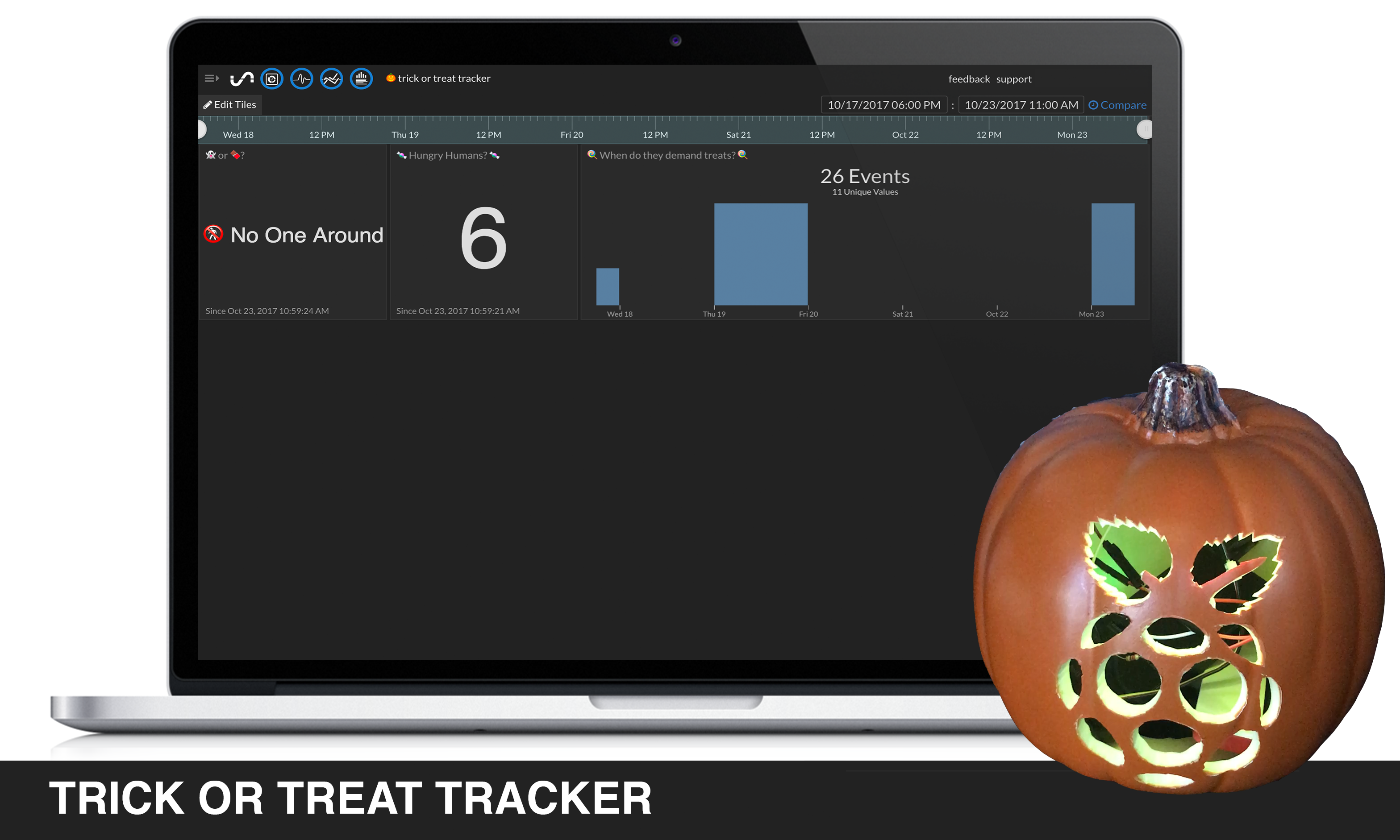 trick or treat tracker main