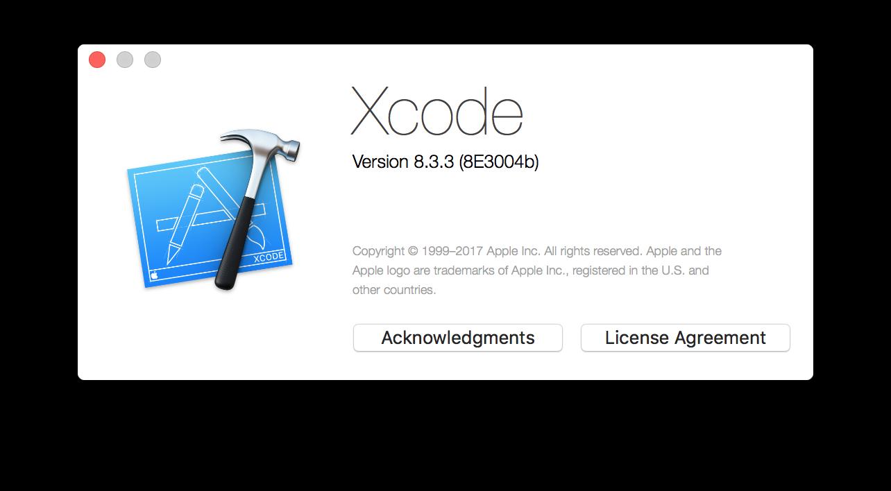 xcodeversion