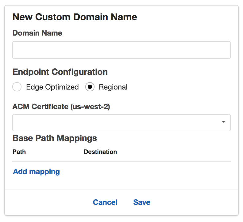 Feature: AWS Regional API Endpoints · Issue #16576
