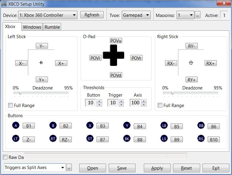Beta Testing: X360CE 4 6 x x Alpha · Issue #795 · x360ce