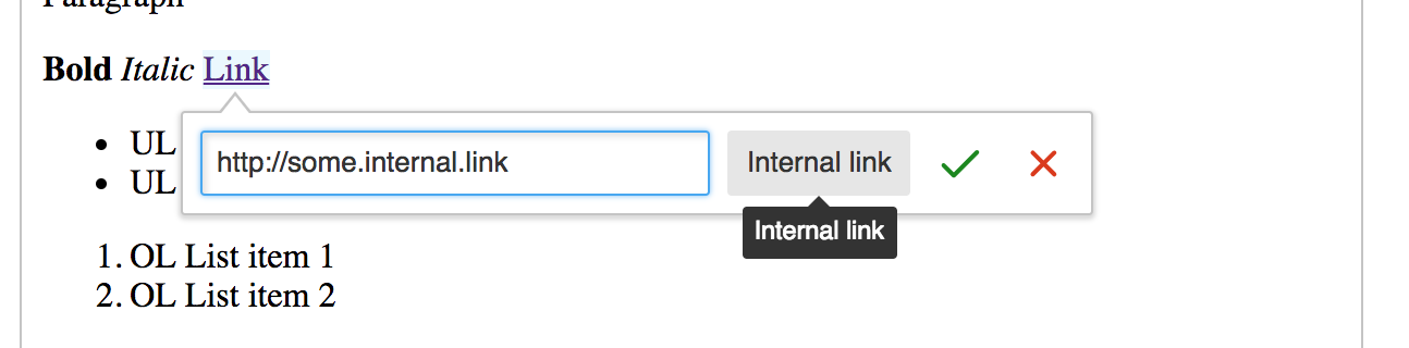 Create a custom link button · Issue #195 · ckeditor