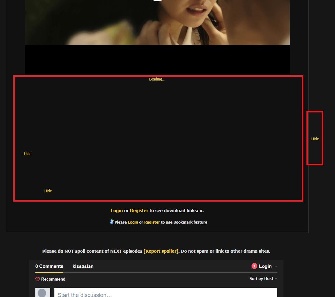 kissasian com - Ad leftover - Anti Adblock Script · Issue