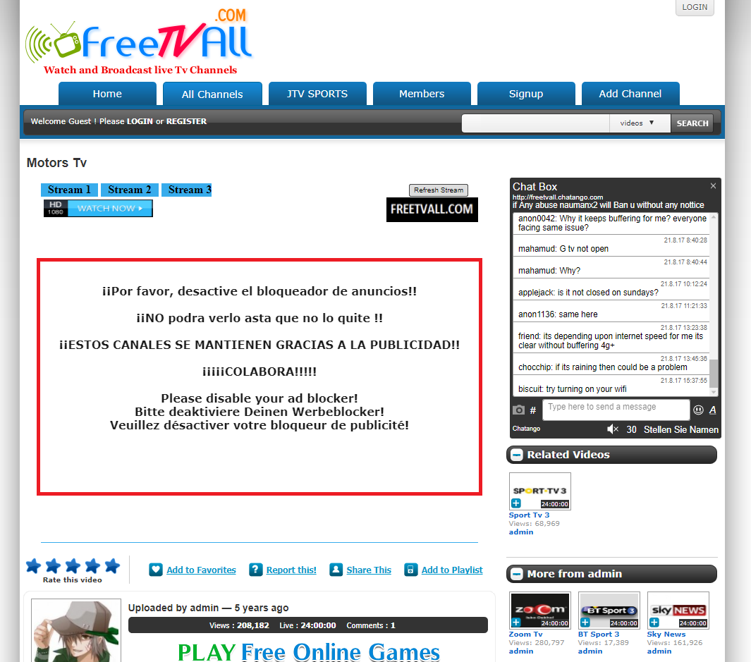FreeTVAll
