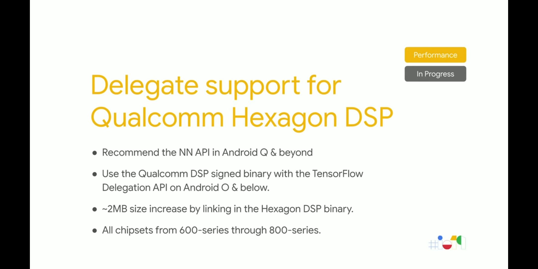 Tflite Qualcomm DSP acceleration · Issue #29028 · tensorflow