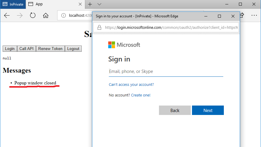 Change how popup lifetime is managed · Issue #685