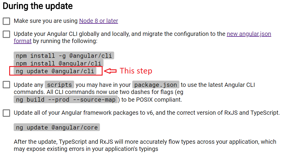 npm install angular cli version 1.7