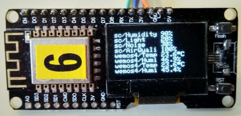OLED Display support · Issue #2557 · arendst/Sonoff-Tasmota