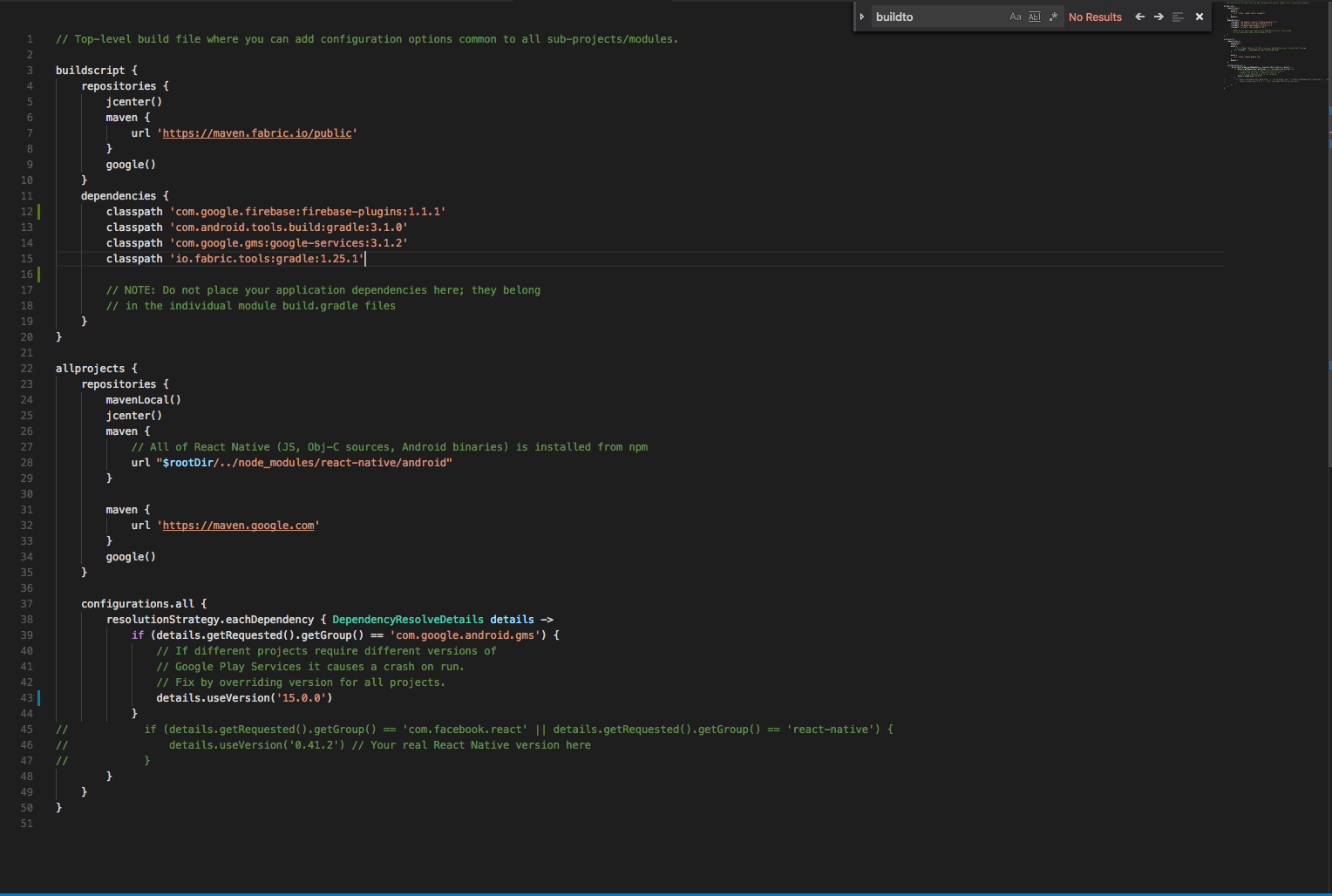 react native firebasecompileDebugJavaWithJavac FAILED · Issue ...