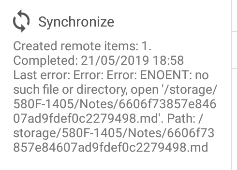 Android File System Sync to SDcard Error · Issue #1543