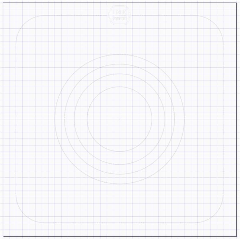 Hoop template