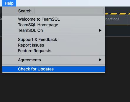 Java server not working · Issue #372 · TeamSQL/desktop-app