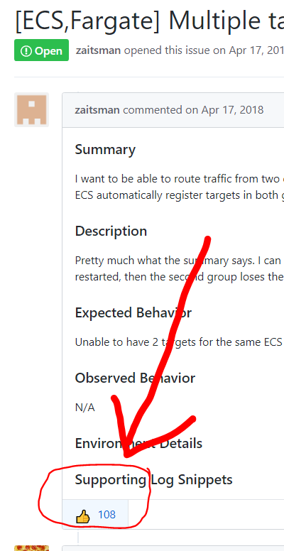 ECS,Fargate] Multiple target groups for a service · Issue #104 · aws