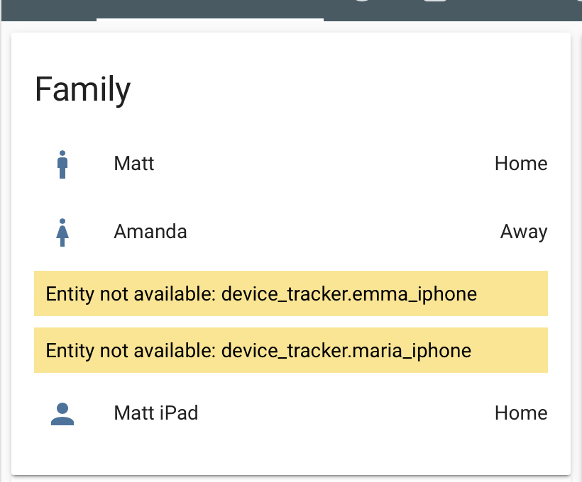 Unifi Device Tracker Issues missing from network go unknown on