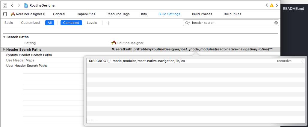 install react native navigation