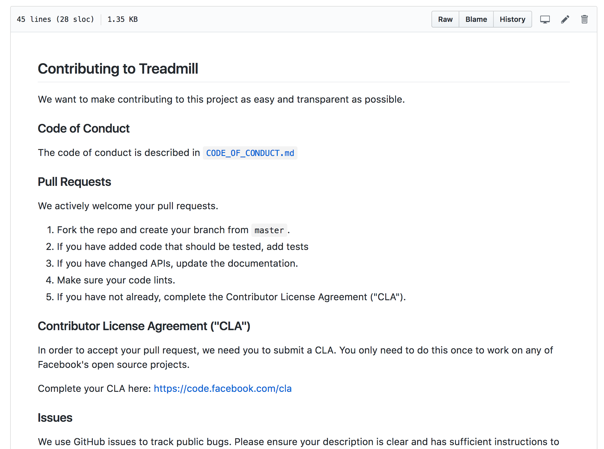 Add Code Of Conduct By Flarnie Pull Request 17 Facebook
