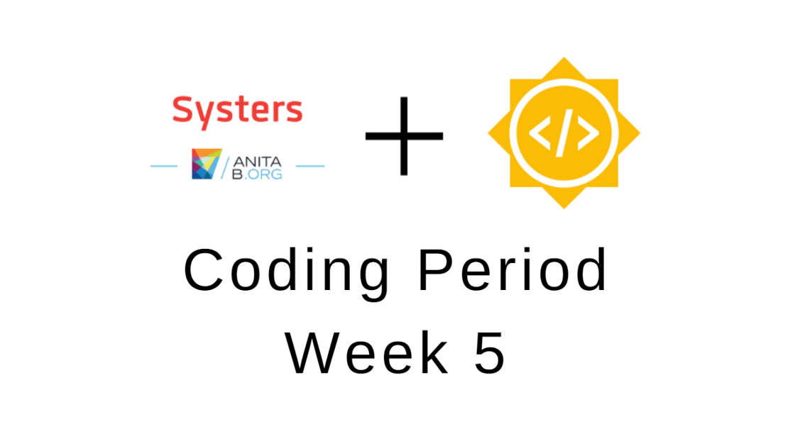 gsoc and systers logos
