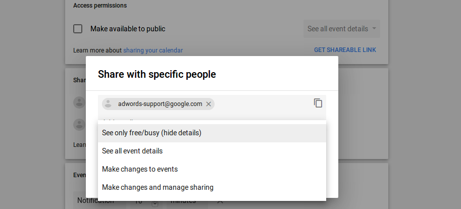 Free Shared Calendar.Default Event Visibility For Shared Calendars Issue 531