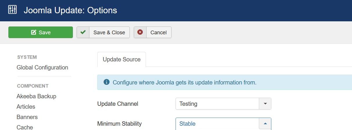 joomla update 01