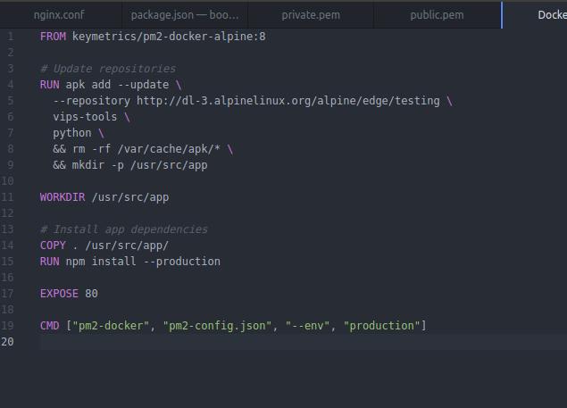 Build fails in Alpine Linux · Issue #354 · lovell/sharp · GitHub
