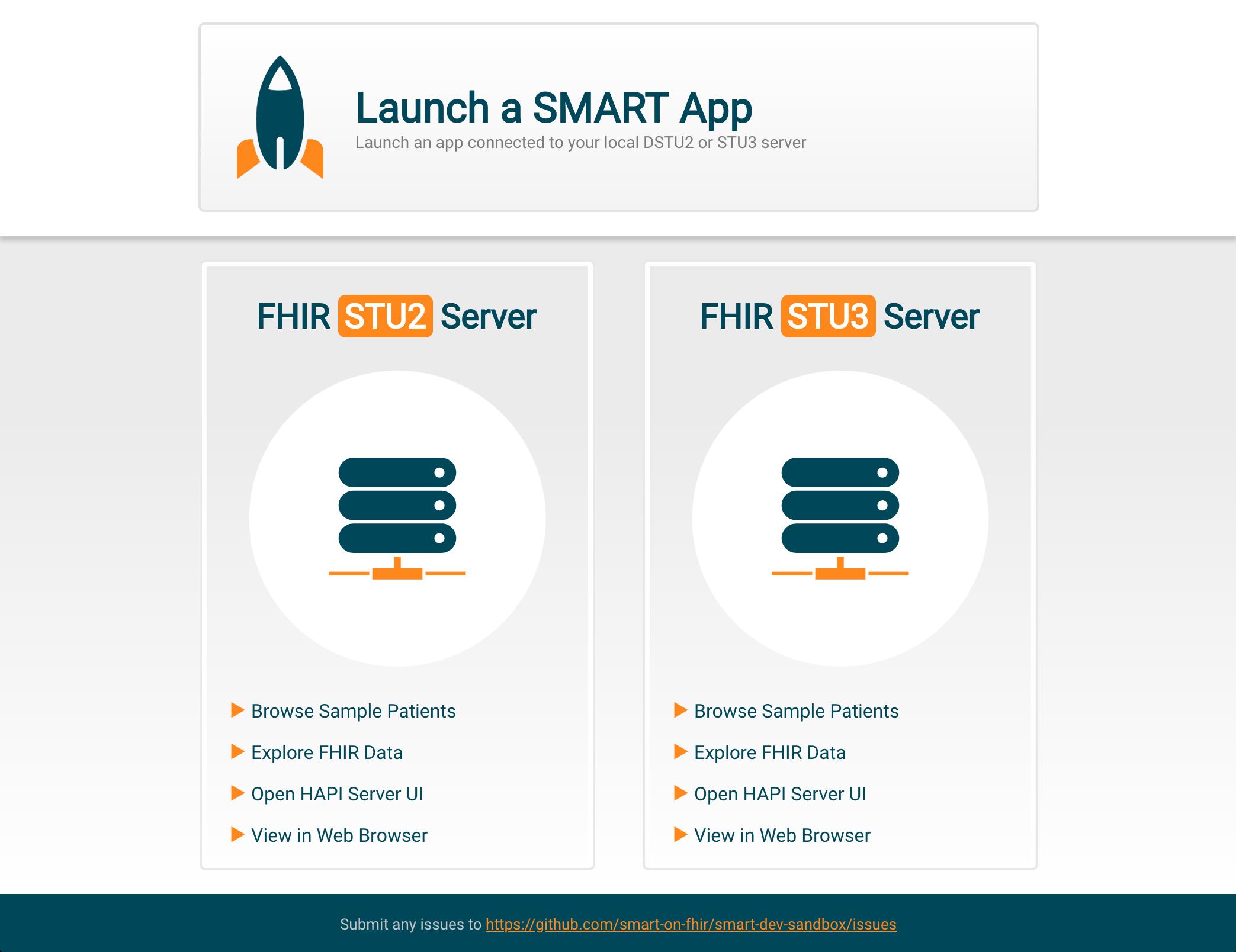 GitHub - smart-on-fhir/smart-dev-sandbox: Docker based
