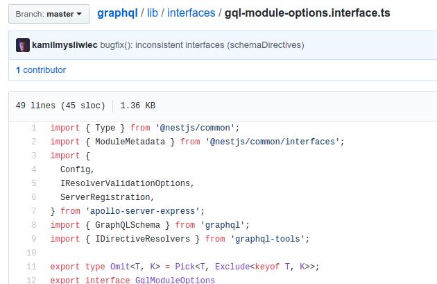 support fastify · Issue #125 · nestjs/graphql · GitHub