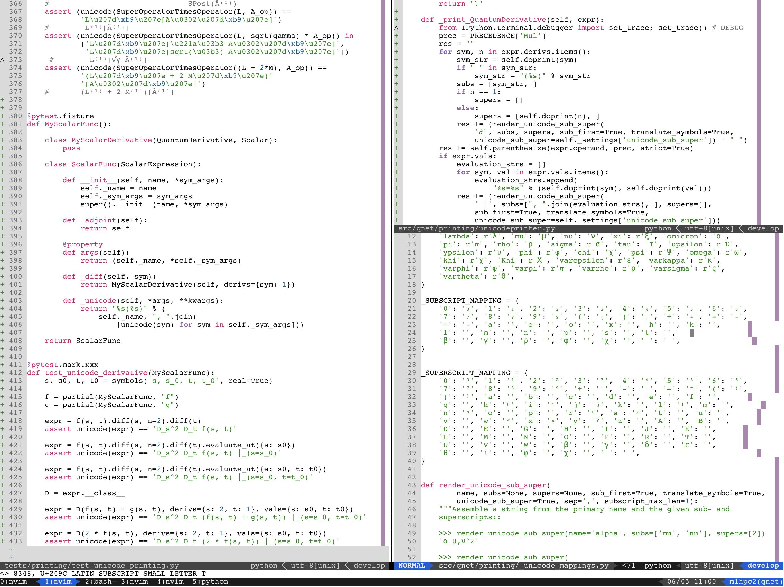 Broken unicode subscripts, unusable mosh · Issue #524