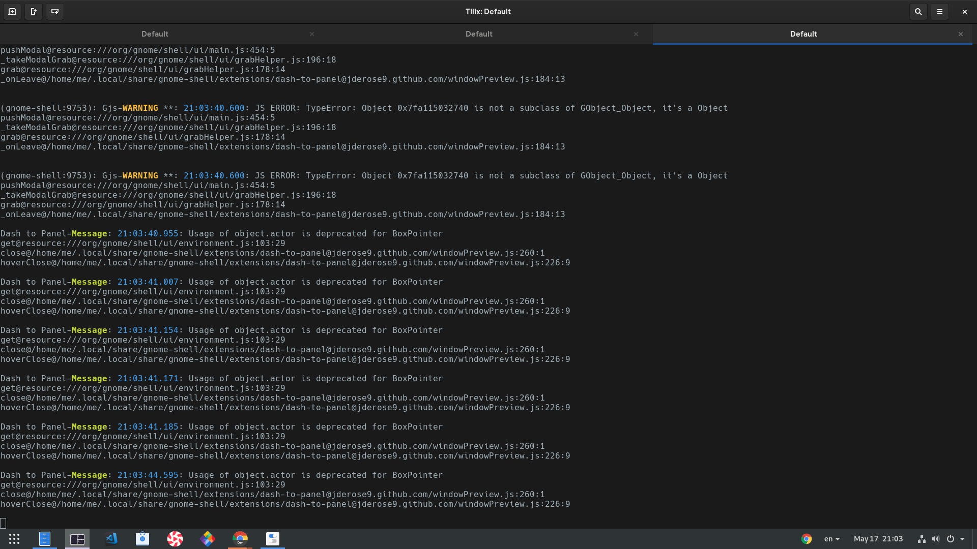 GNOME 3 34: Usage of object actor is deprecated · Issue #648