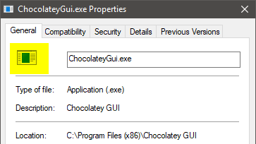 Chocolatey GUI icon is a blank image · Issue #589