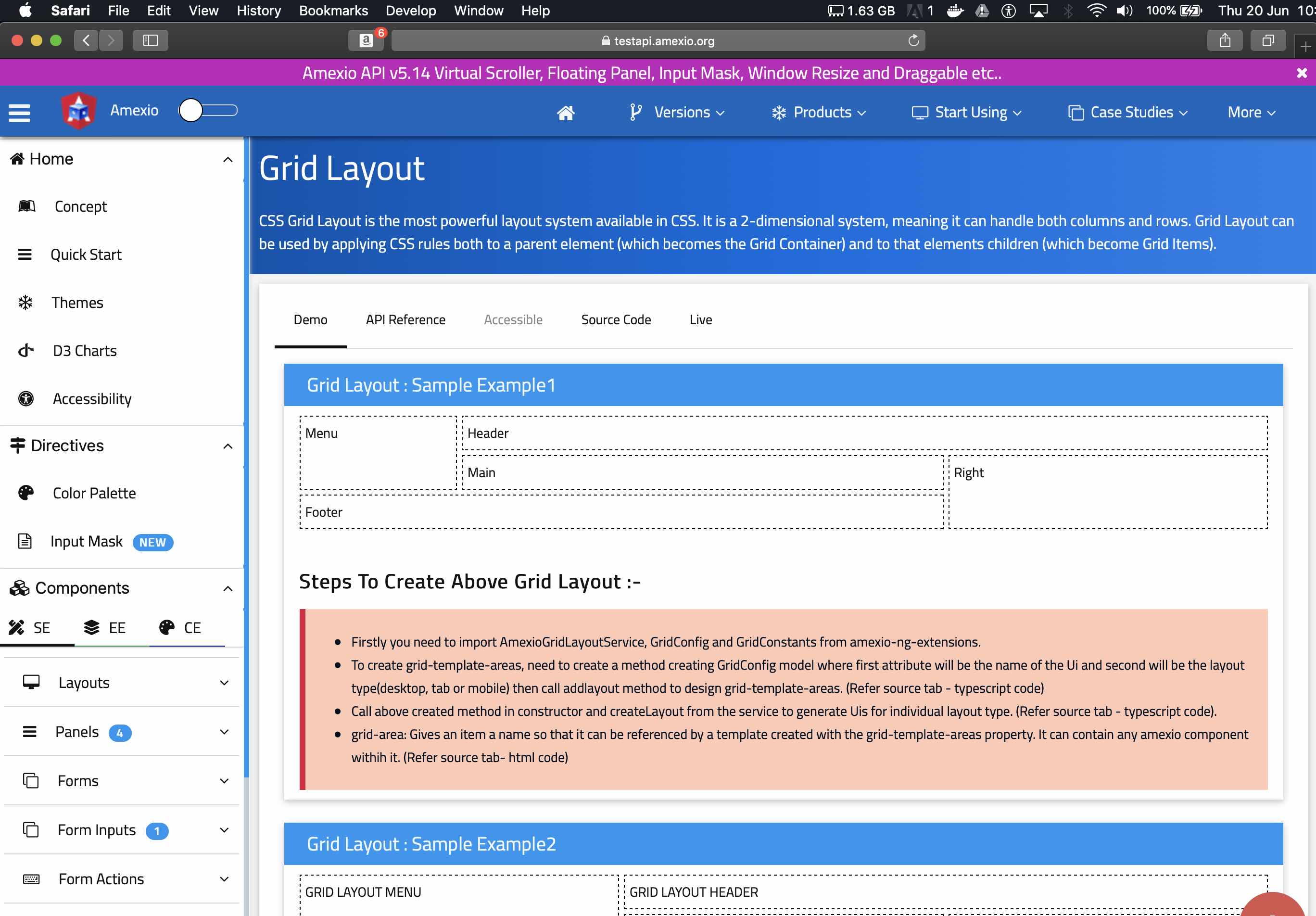Amexio-fix-Grid-Layout-Safari