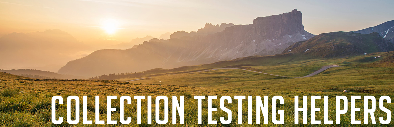Laravel Collection Testing Helpers
