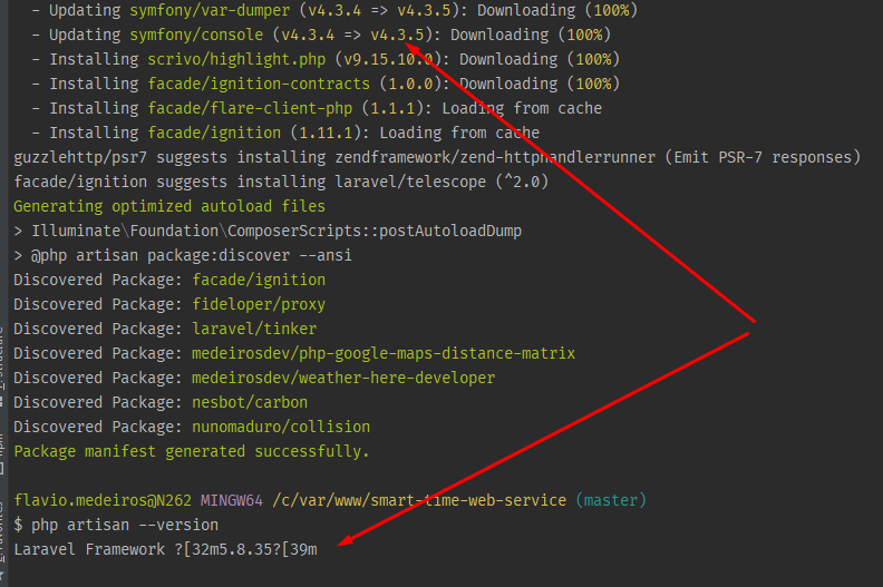 bug color in symfony/console 4.3.5 windows git bash · Issue #33915 ...