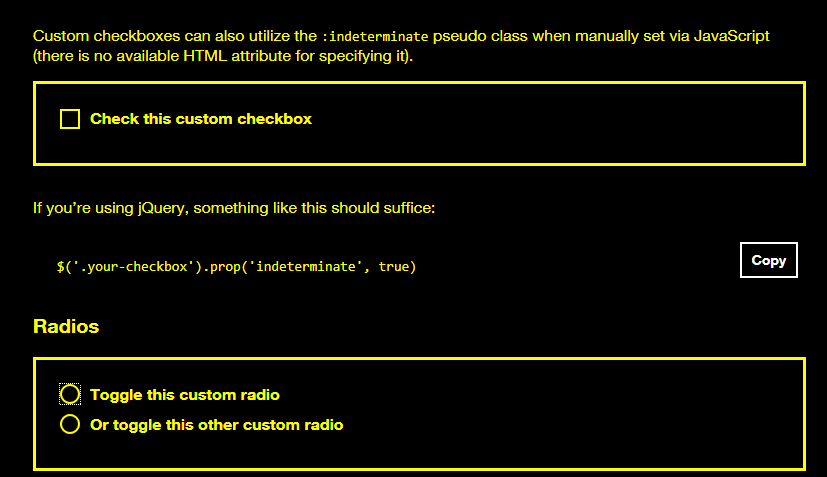 custom-checkboxes not visible whith high contrast on windows